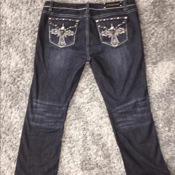 L.A. idol Denim - L.A Idol USA JUNIORS PLUS SIZE jeans
